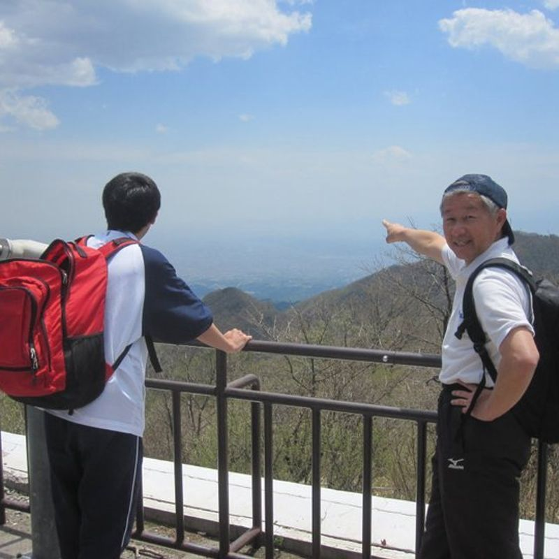 My first time hiking in Japan photo