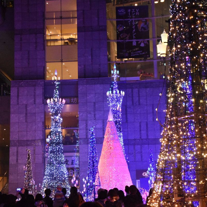 One of Japan's most loved winter illuminations Caretta Shidome brings Disney to big-business Tokyo photo
