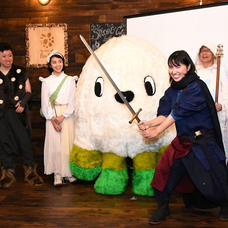 AR cosplay game to bring renewed sense of fun to rural Shizuoka town photo