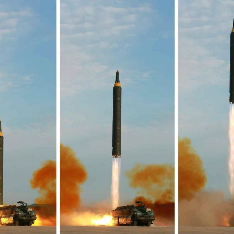 N. Korea fires suspected ICBM with longest range so far photo