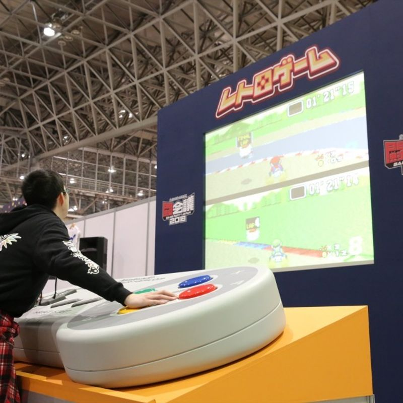 Gamers get hands on, and pro licenses, at Tokaigi Game Party Japan photo