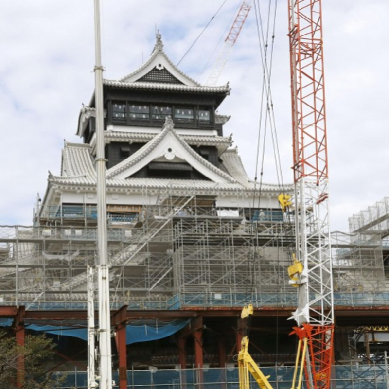 Rugby: Kumamoto Castle Park to reopen for 2019 World Cup in Japan photo