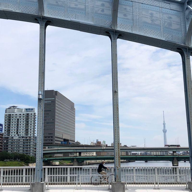 Urayasu to Ginza on a mamachari photo