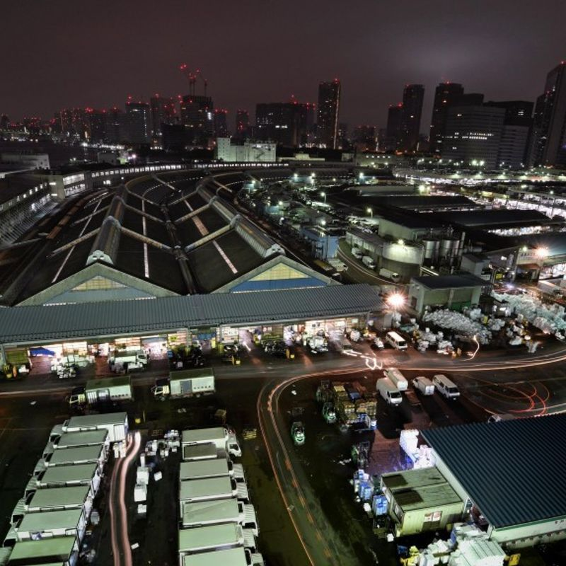 Tokyo mulling complex with convention center on Tsukiji market site photo