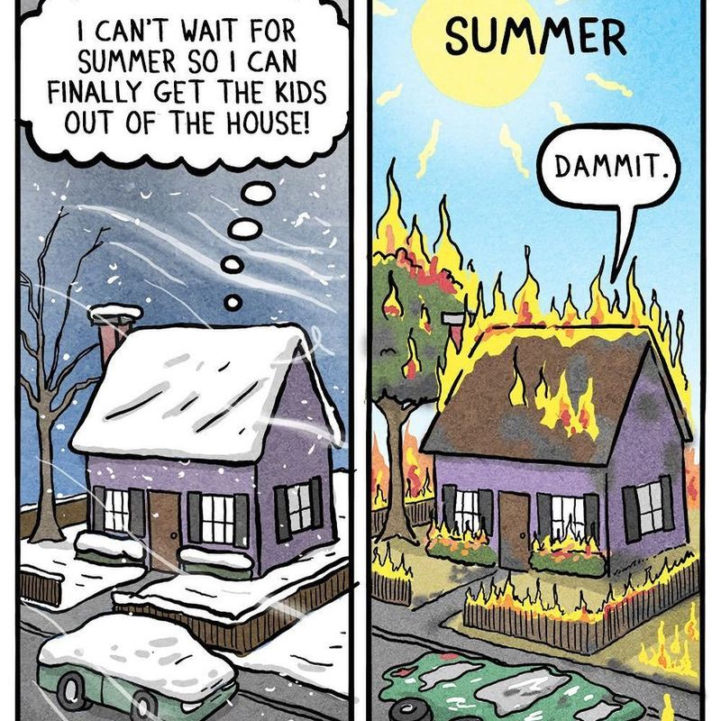 A comic that perfectly summarizes my feelings about Japan's seasons photo