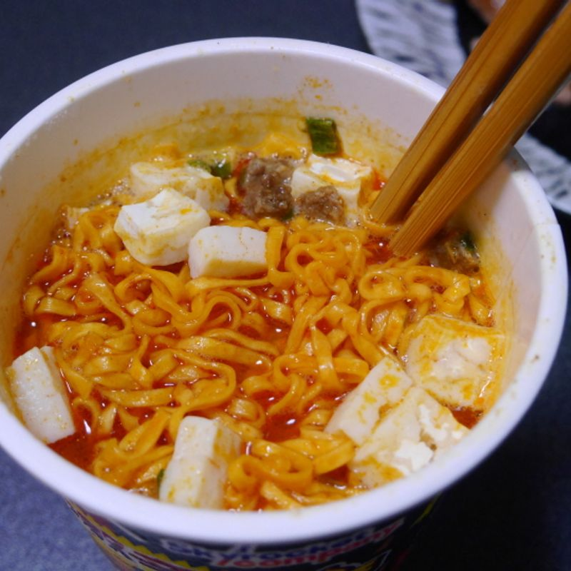 Chili-pepper Infused Cup Noodles photo