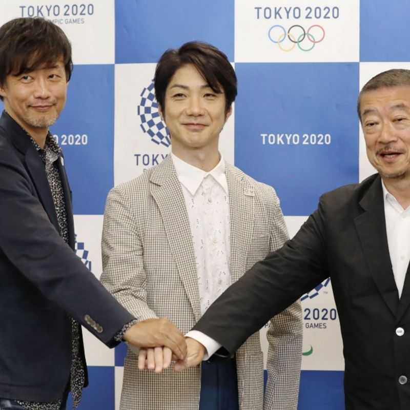 "Olympics: ""Requiem and rebirth"" will be theme of Tokyo 2020: team photo"