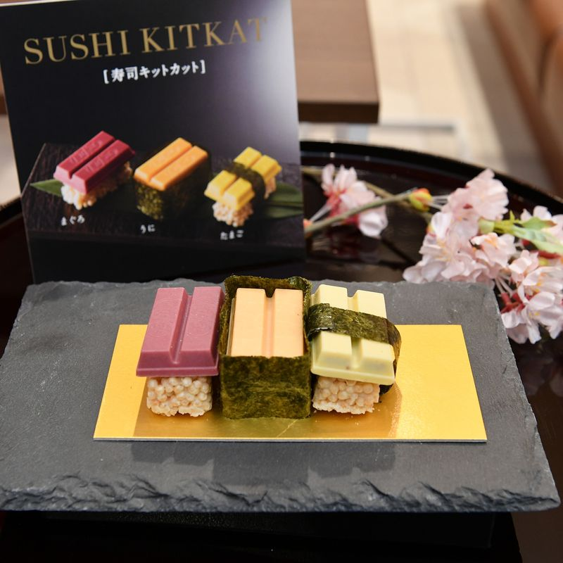 Nestlé Japan brings back Sushi KitKat for opening of airport chocolatory photo