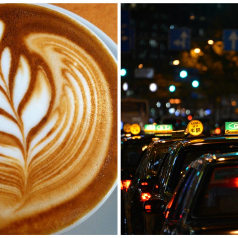 News: In Japan They Serve Coffee in the Back of Taxis photo