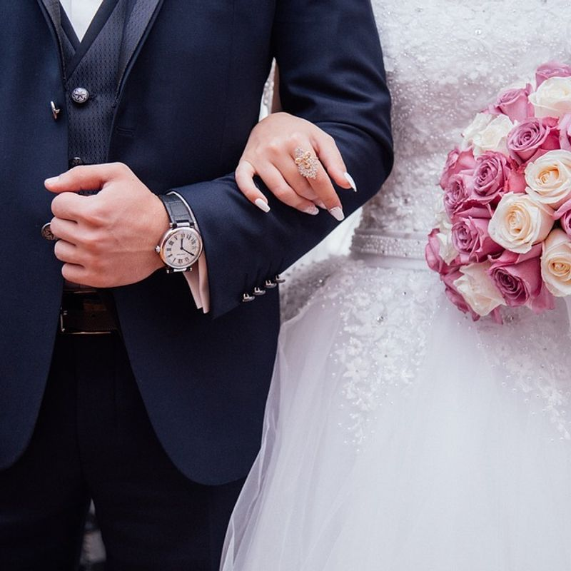 Dating Differences: Going to Weddings photo