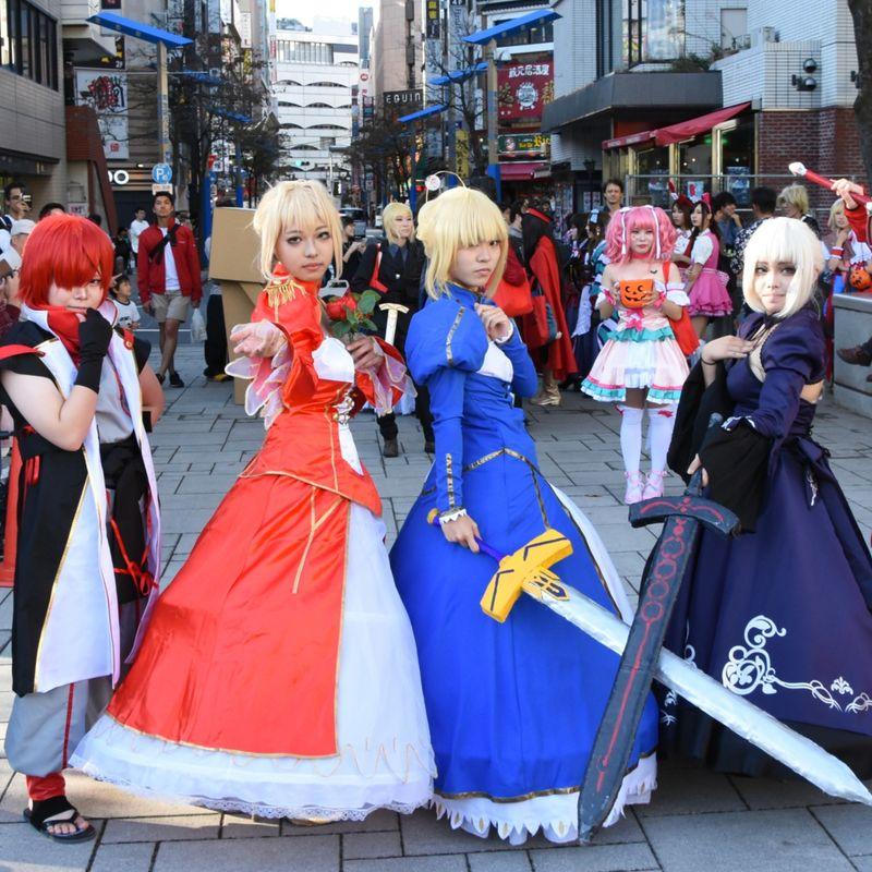 Ikebukuro Halloween Cosplay Fes 2018 in photos photo