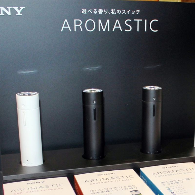 "Sony exploring ways to promote its ""aromatic Walkman"" photo"