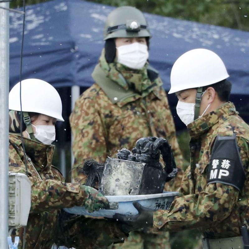 パイロットもまた、日本南西部の自衛隊チョッパー衝突後に死亡した photo