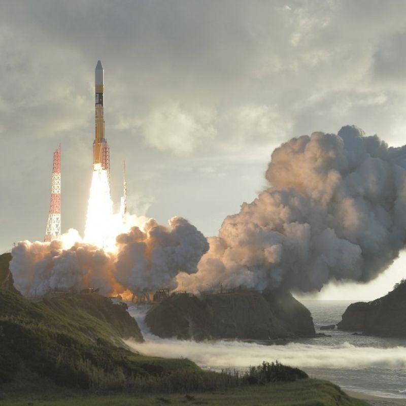 Japan launches 4th GPS-improving quasi-zenith satellite photo