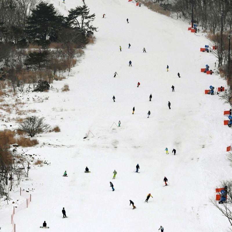 Japan's 1st new ski resort in 14 years opens in Hyogo photo