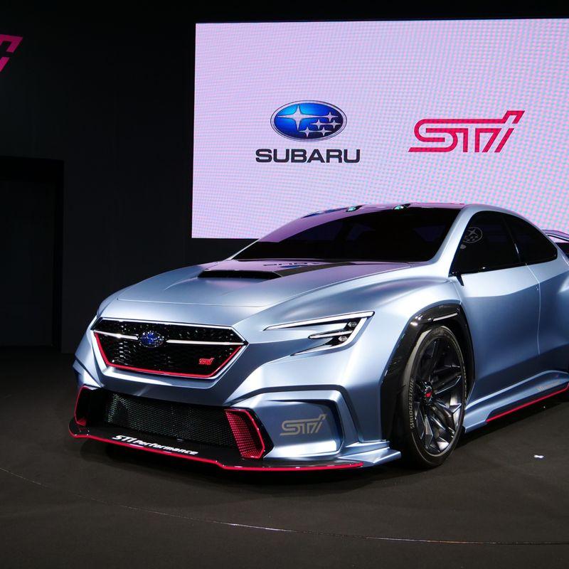 Subaru car lineup, Tokyo Auto Salon 2018 photo