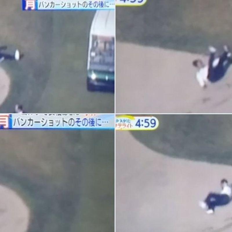 バンカーショットの事件、または私が日本のメディアを心配しなくする方法を学んだこと photo
