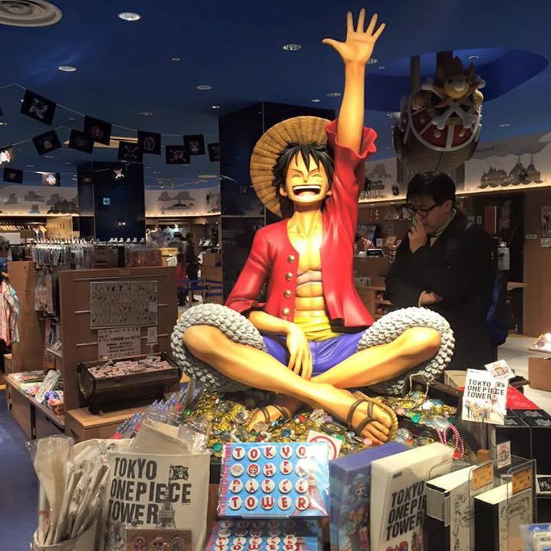 One Piece at the Tokyo Tower! photo