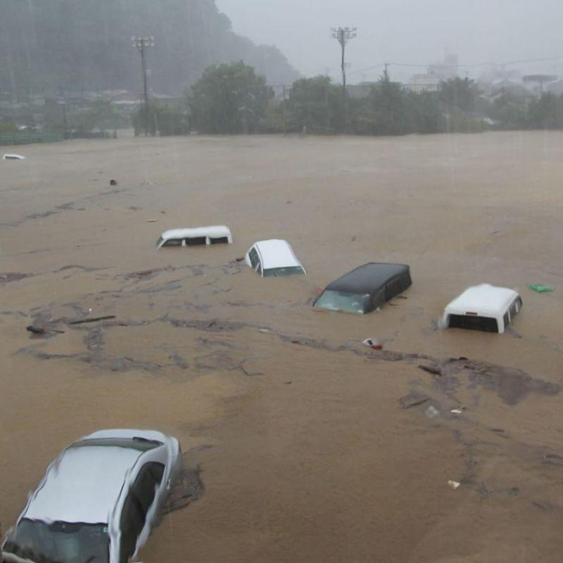 2 dead, 3 missing as typhoon batters Japan archipelago photo