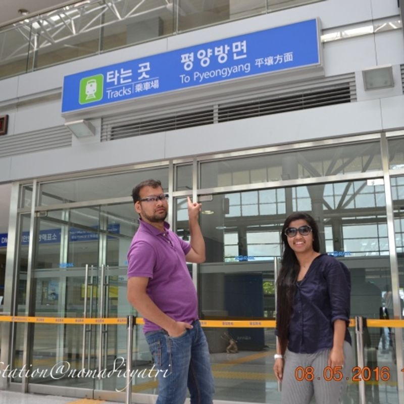Road Trip To Demilitarized Zone Between South Korea And North Korea(DMZ) photo