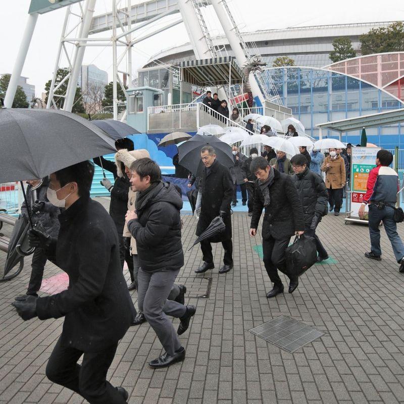 Tokyo holds 1st anti-ballistic missile evacuation drill photo