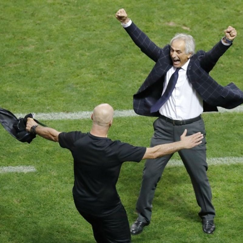 Soccer: Japan hope Halilhodzic will stay on as coach through Russia 2018 photo