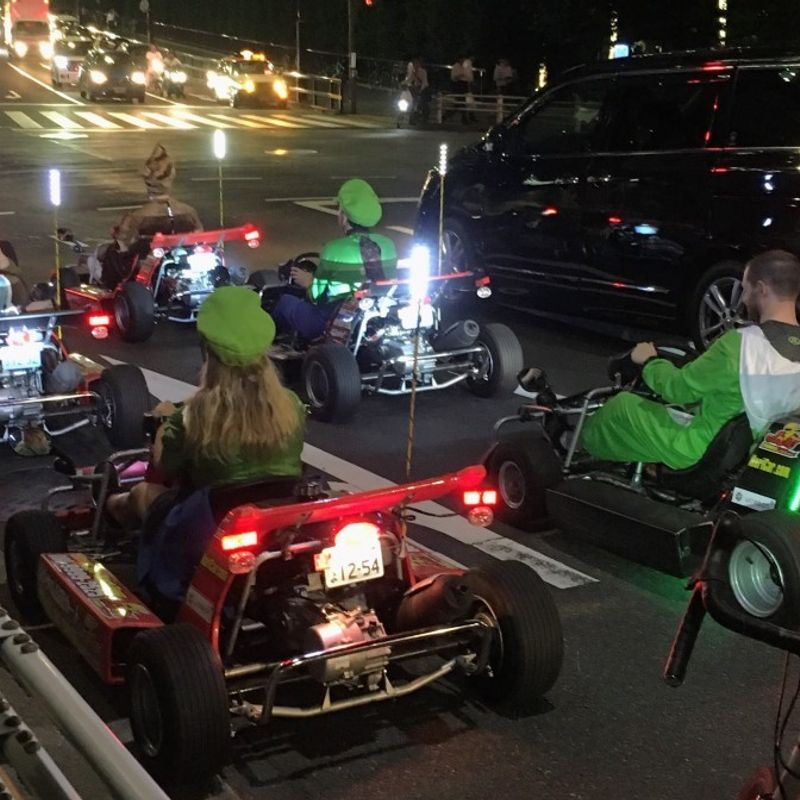 86% of go-kart accidents in Tokyo involved foreigners photo