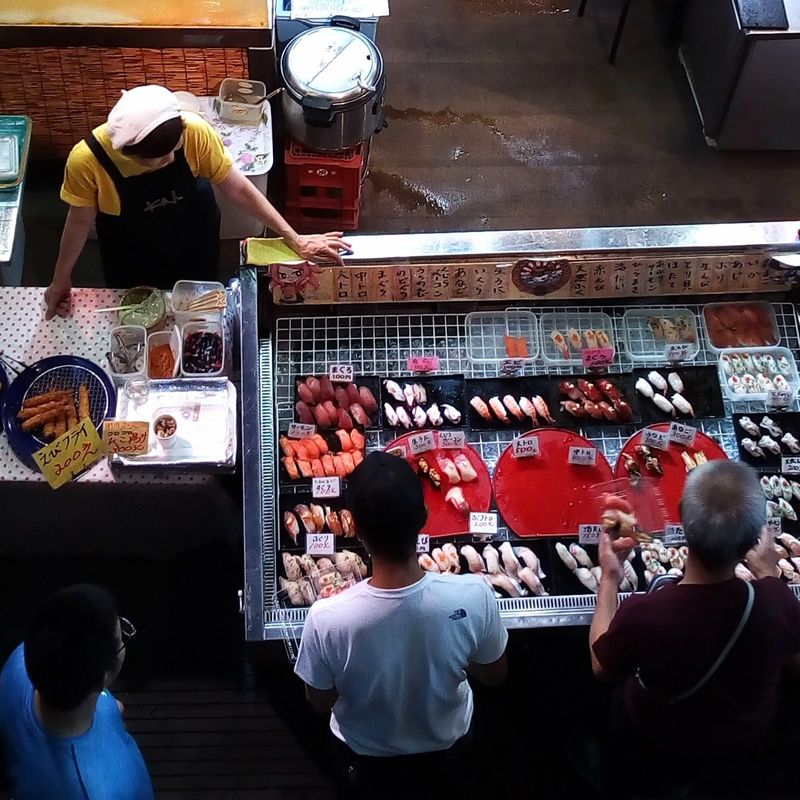 Fresh Sushi at Karato Ichiba photo