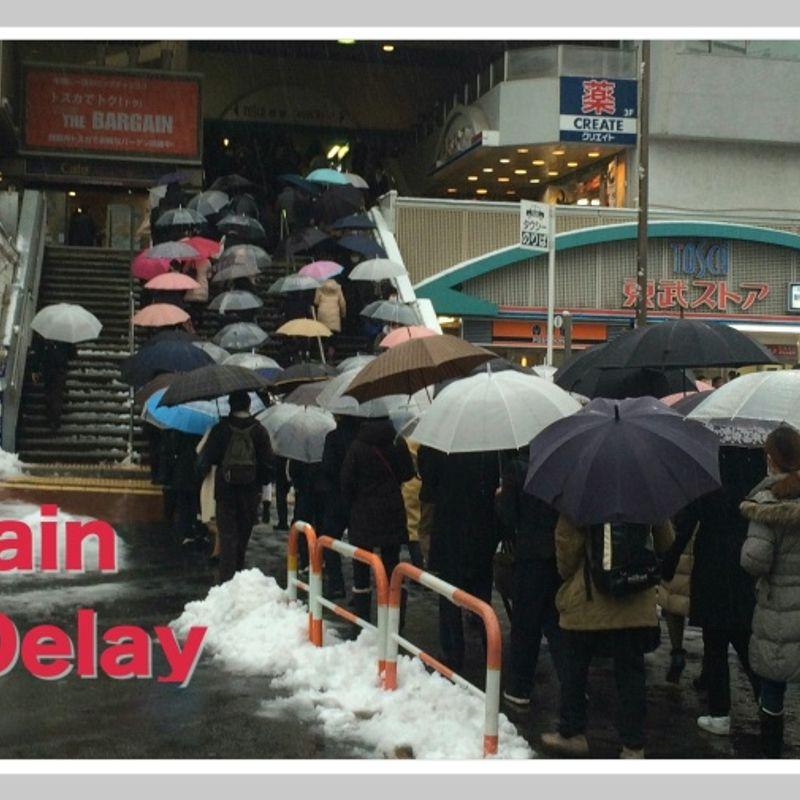 Salaryman (in Japan) - Delays On The Train photo