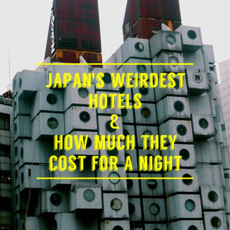 Japan's Unique Hotels and How Much They Cost For A Night photo