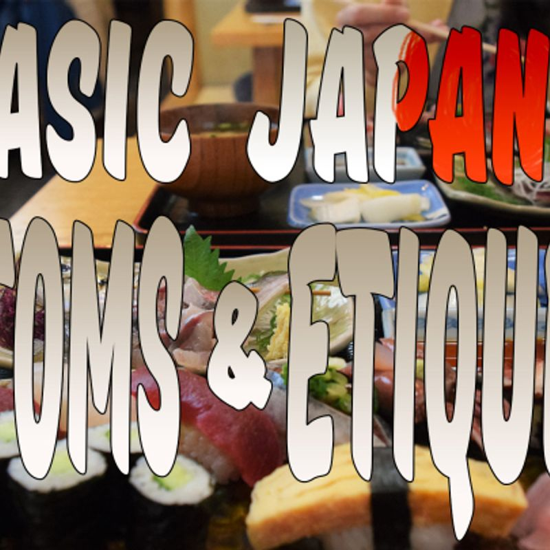 5 Basic Japanese Customs and Etiquette photo