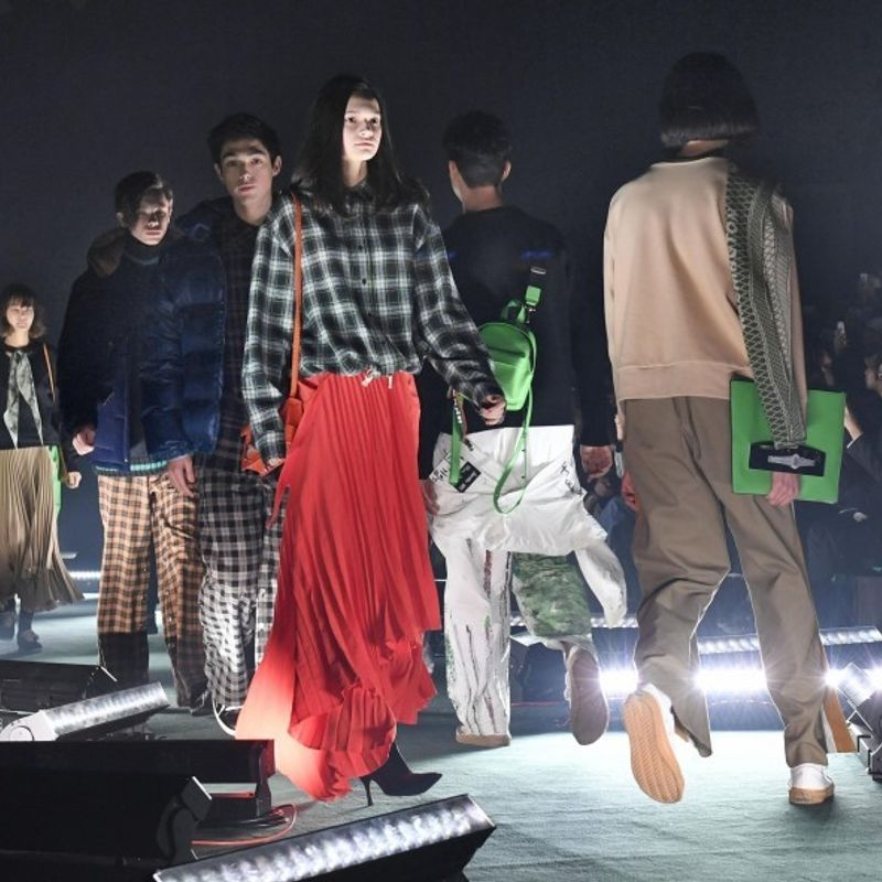 Tokyo fashion week opens to showcase 2018 autumn, winter designs photo