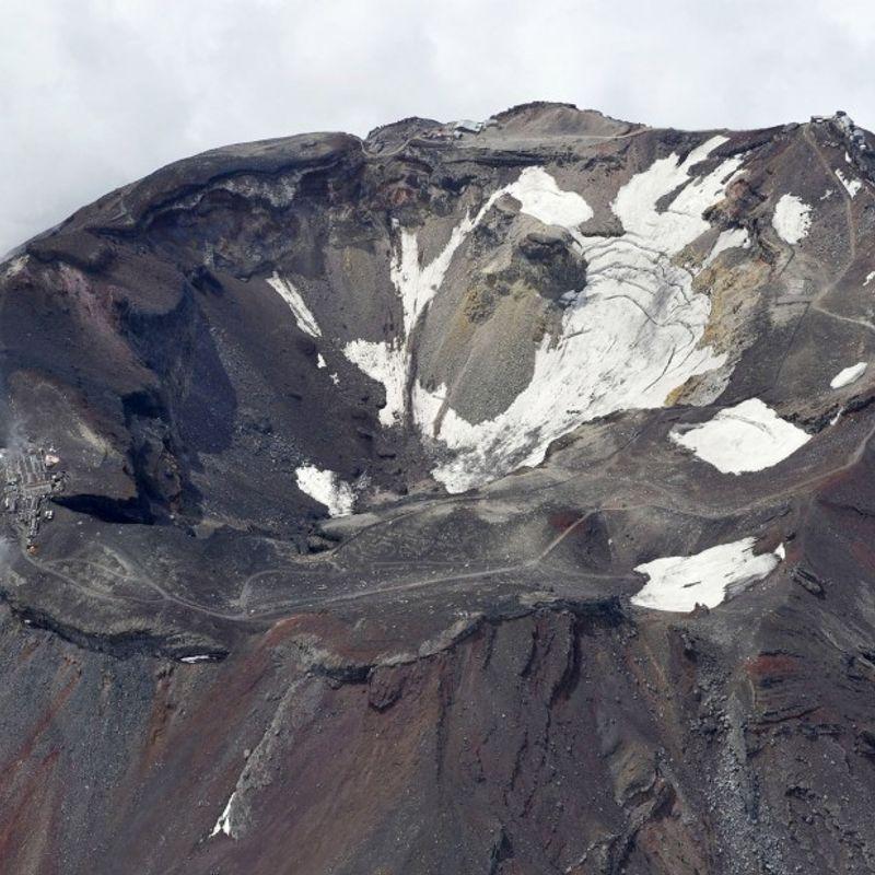東京は麻生によって麻痺する可能性がある。富士山の噴火:政府報告 photo
