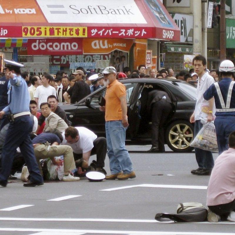 Akihabara marks 10th anniversary of deadly stabbing rampage photo