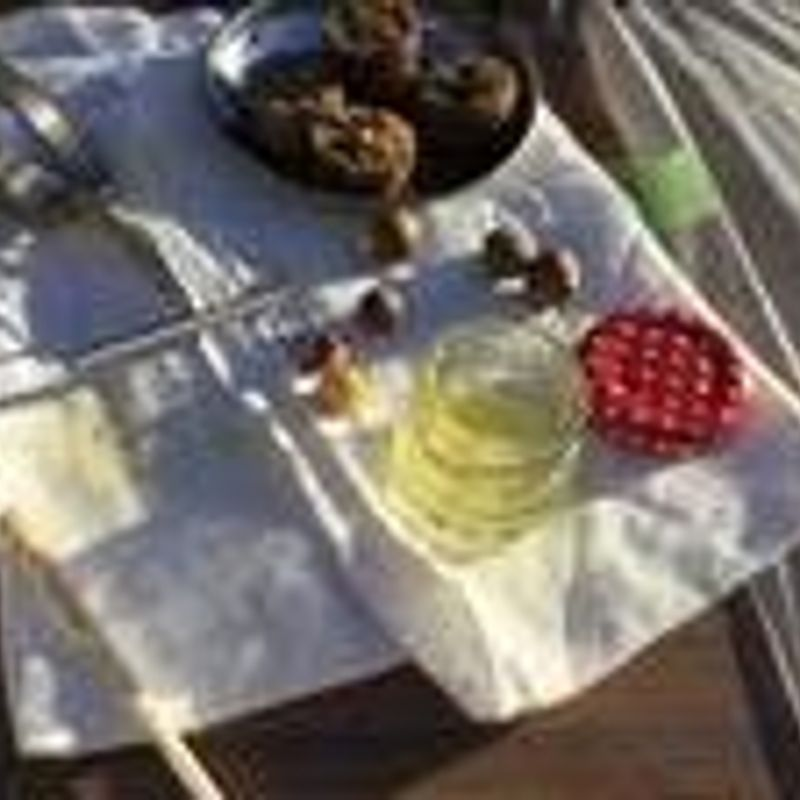 お茶の実油作り     photo