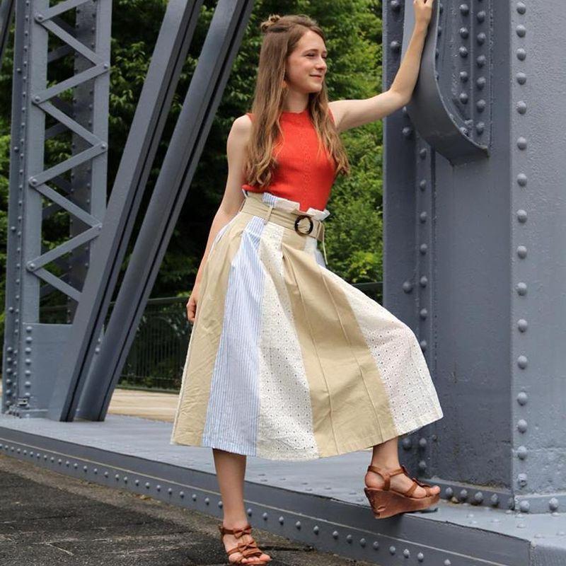 Multi Pattern Skirts photo