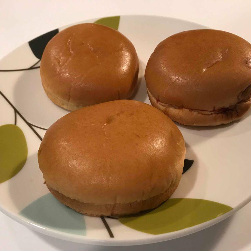 100 Yen Lawson burger photo