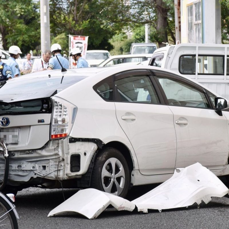 30,000 elderly drivers in Japan may be suffering dementia: police photo