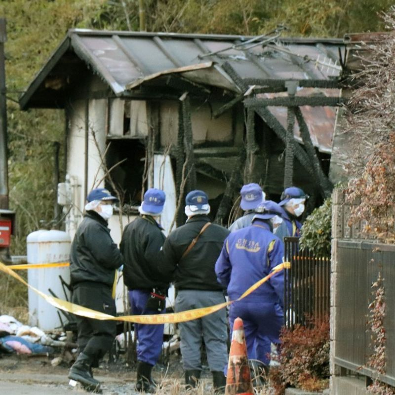 20-year-olds, teenage girl arrested over arson death case in Japan photo