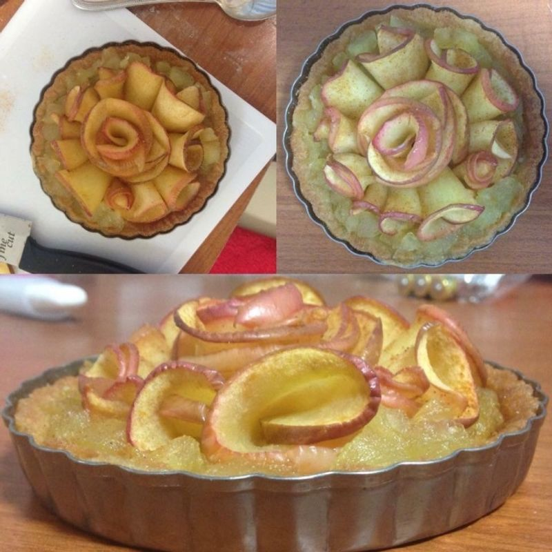 Make Your Own Vegan Apple Rose Tart photo