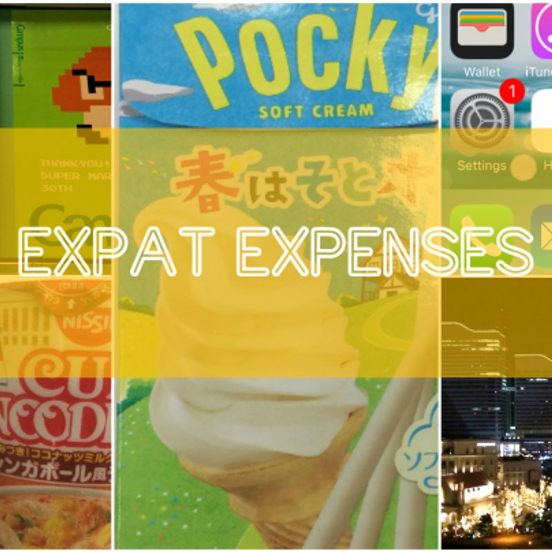 How Much?! Weekly Expense in Japan (April 9 - 15) photo