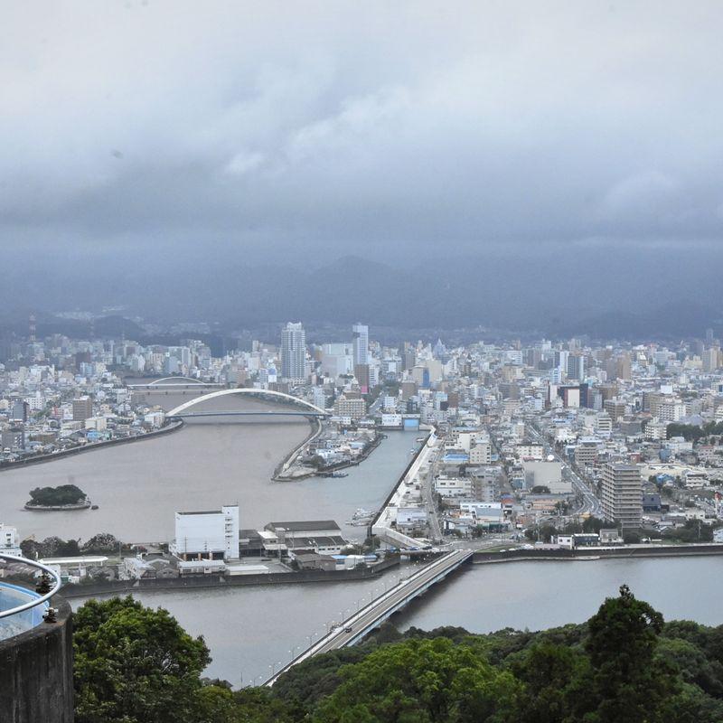Kochi City, Shikoku, lends itself to a Sunday mood photo