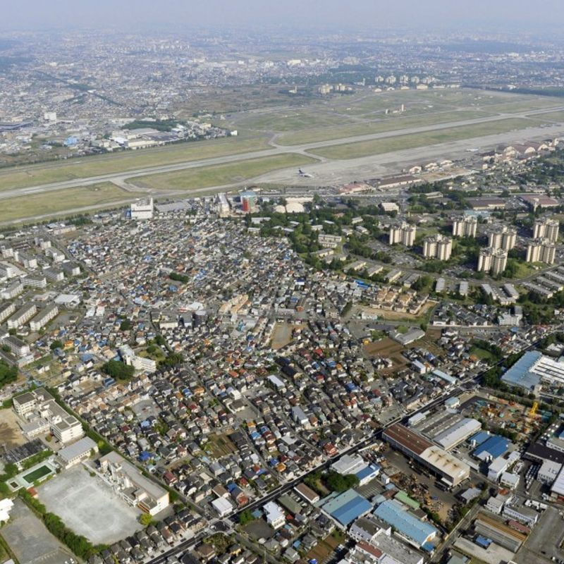 Japan gov't ordered to pay damages over noise problem at U.S. Yokota base photo