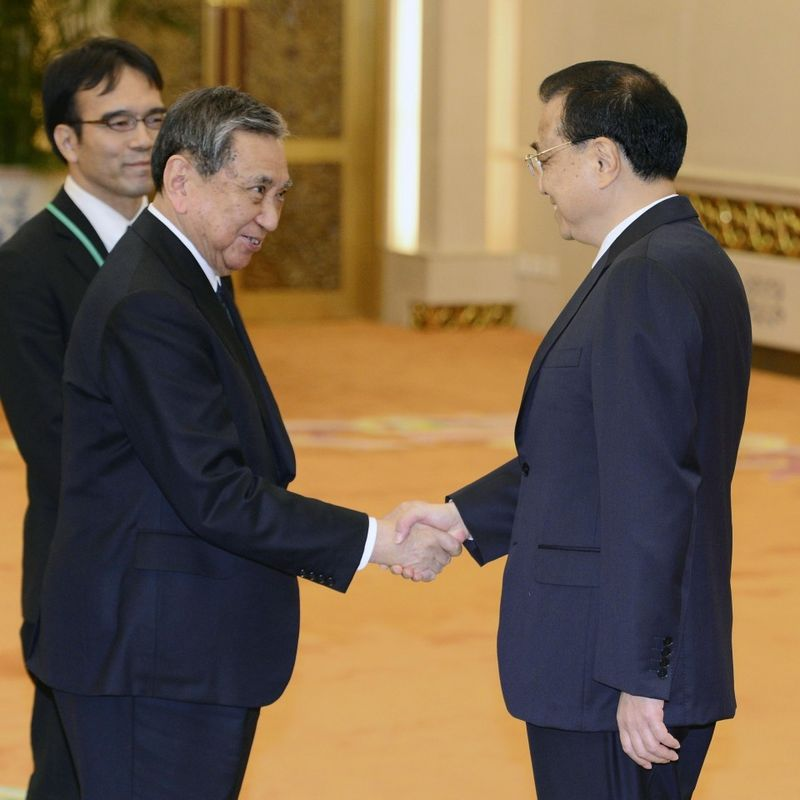 Improvement in China-Japan ties apparently gaining momentum: Li photo
