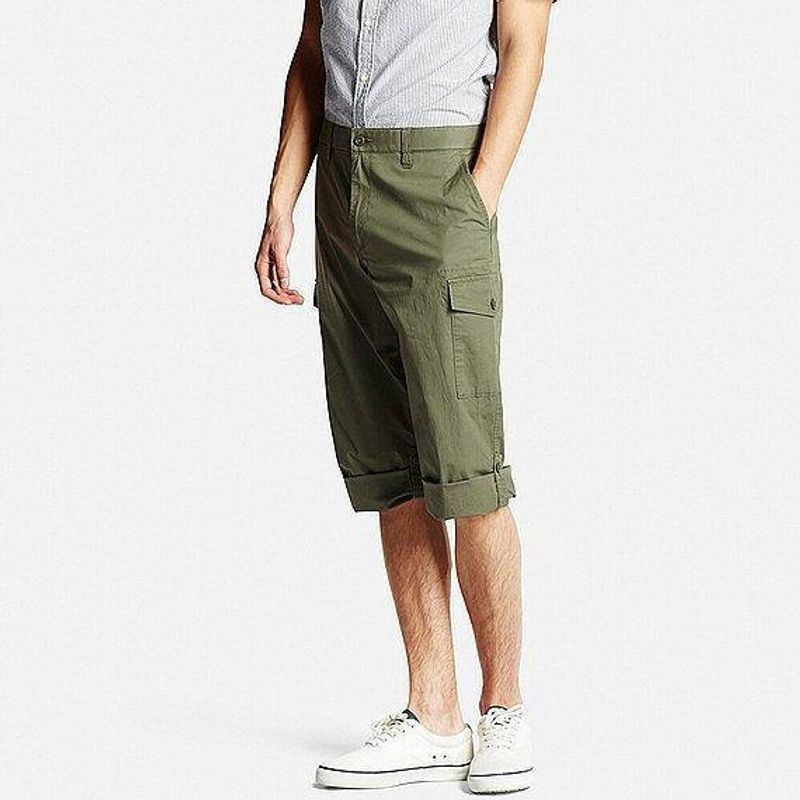 No, they're not Capris: the 3/4 shorts Men should have for Japanese Spring & Summer photo