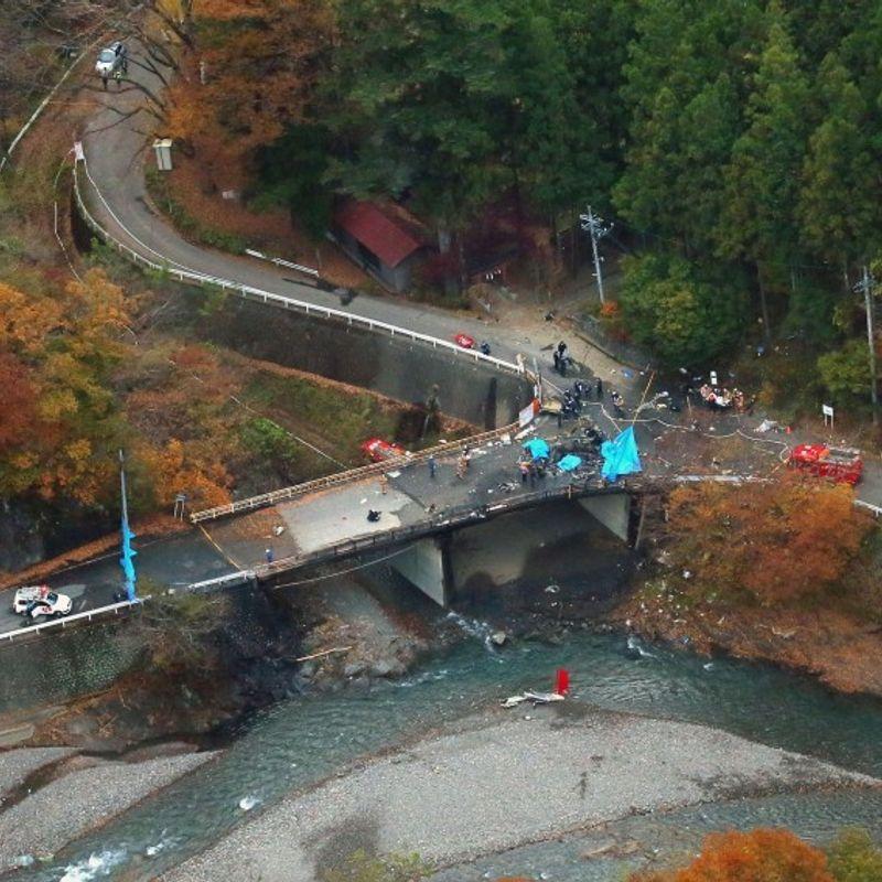 4人在东京西北部村庄的直升机坠毁身亡 photo