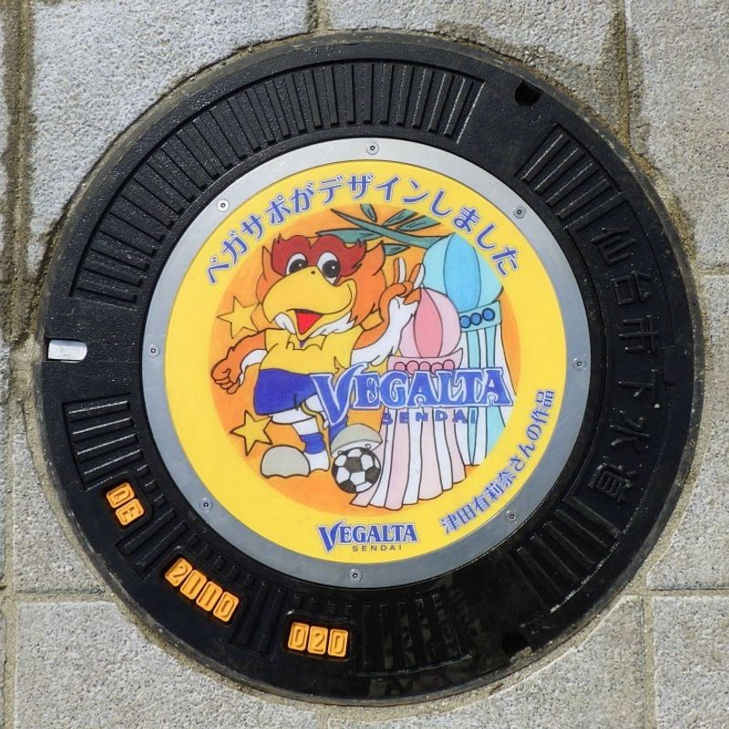 Japanese city to invite ads on manhole covers for extra revenue photo