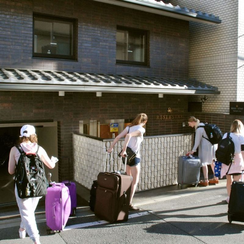 Kyoto introduces lodging tax on tourists photo