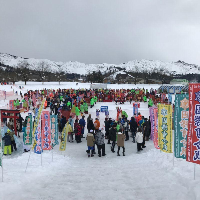 The Koide International Snowball Fight photo