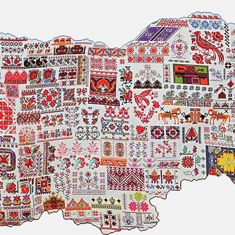 WHO KNEW THAT BULGARIAN EMBROIDERY IS PROSPEROUS IN JAPAN photo